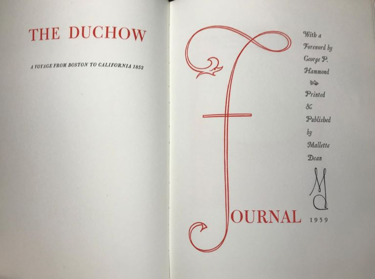The Duchow Journal