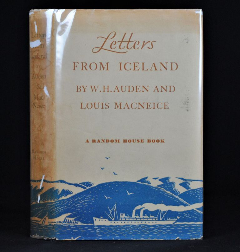 Letters from Iceland. Louis Macneice W H. Auden.