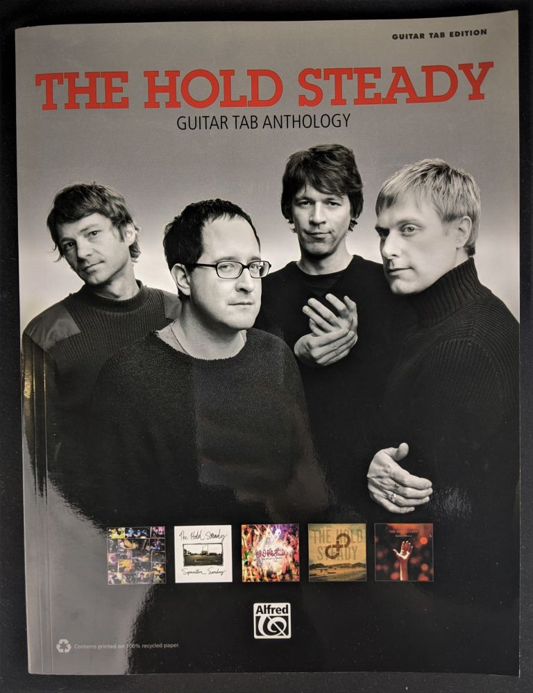 The Hold Steady Guitar TAB Anthology. Hold Steady.