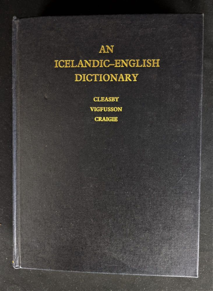 An Icelandic-English Dictionary. Richard Cleasby.