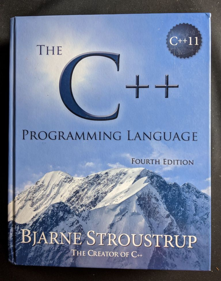 C++ Programming Language (hardcover), The. Bjarne Stroustrup.