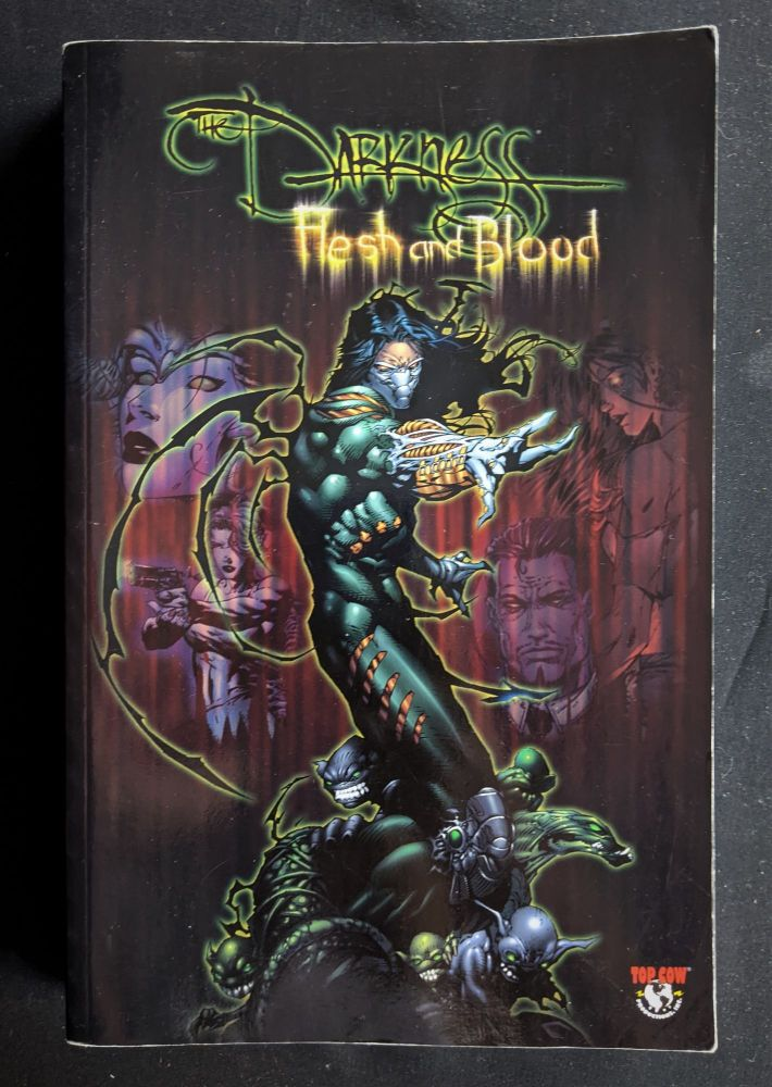 Flesh and Blood (The Darkness, Volume 3.5). Scott Lobdell.