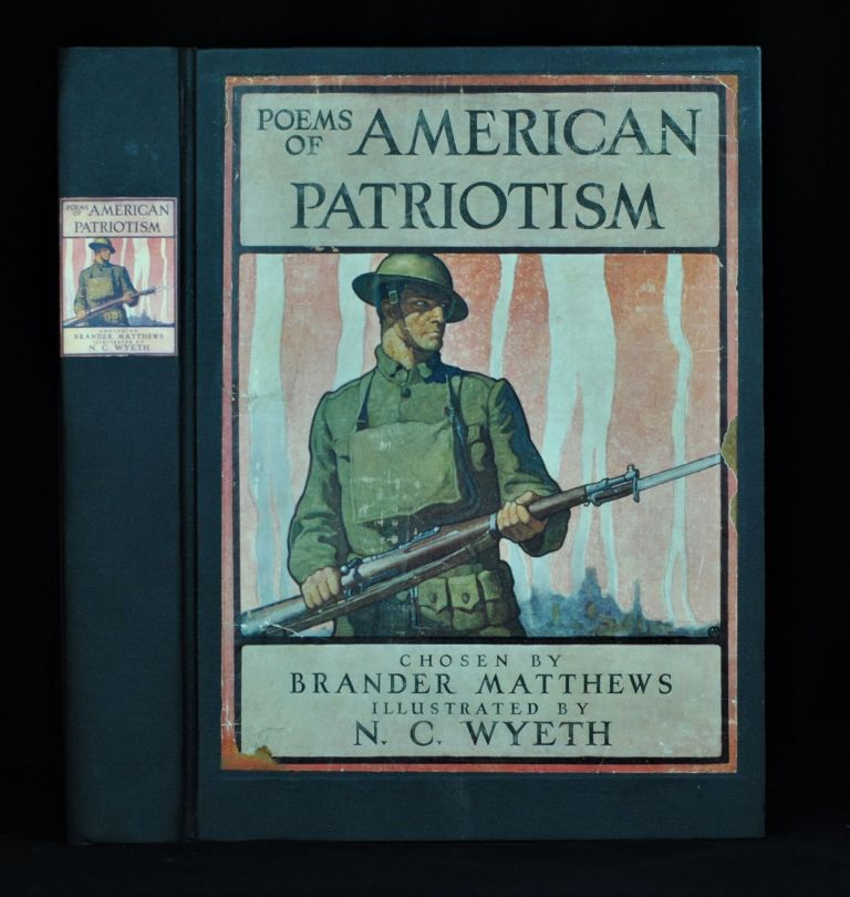 Poems of American Patriotism. Brander Matthews.