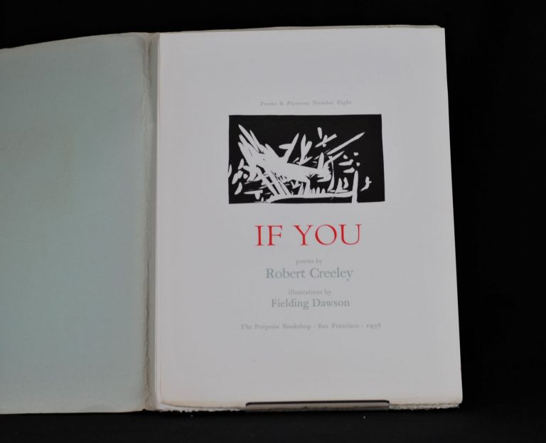 If you. Robert Creely.