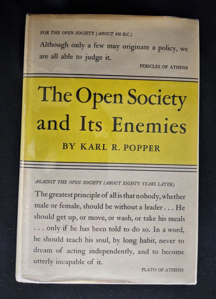 The Open Society and its Enemies. Karl R. Popper.