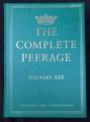 The Complete Peerage Volumes 1-14