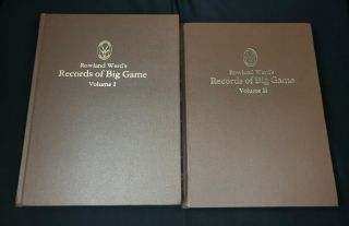 Rowland Ward's Records of Big Game Vol. I+II