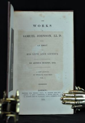 The Works of Samuel Johnson with an Essay on His Life and Genius (12 vol.)