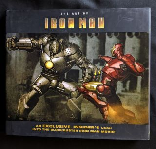 Art of Iron Man the Movie. John Rhett Thomas