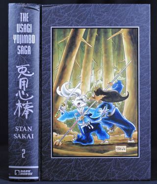 Usagi Yojimbo Saga Volume 2 Ltd. Ed. Stan Sakai