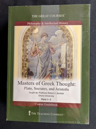 Masters of Greek Thought: Plato, Socrates, and Aristotle. Emory University Professor Robert C....