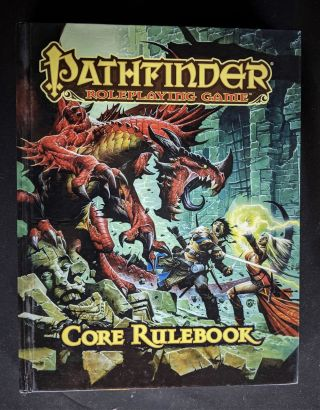 Pathfinder Roleplaying Game: Core Rulebook. Jason Bulmahn