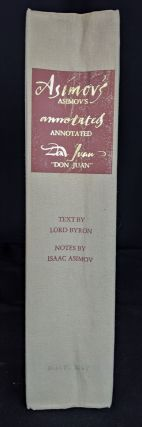 Asimov's Annotated Don Juan: An Original Interpretation of Lord Byron's Epic Poem