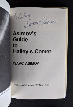 Asimov's Guide to Halley's Comet: The Awesome Story of Comets