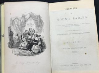 Sketches of Young Ladies, in which these Interesting Members of the Animal Kingdom are Classified